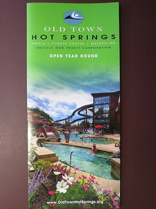 OK - now it's time to visit Old Town Hot Springs in town - $11 for seniors. More info here: http://steamboathotsprings.org