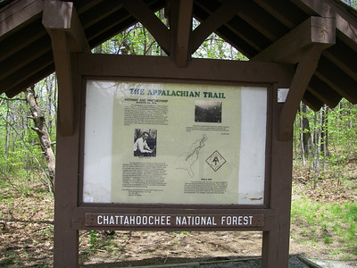 Friday morning, 5/9 - welcome to Georgia and the southern terminus of the Appalachian Trail.