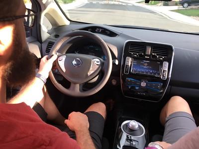 Buckle-up - test drive underway.