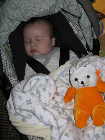 Brayden at four months - 10/20/08