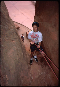 Day One - a preliminary rope practice at Garden of the Gods.