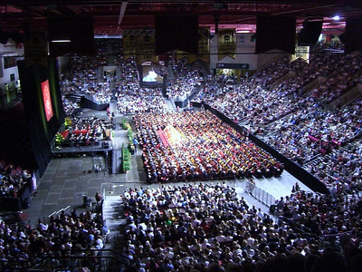 Graduation at Denver University.