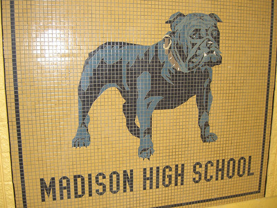 OK, Saturday - time to reunion: at the new and improved Madison High School.