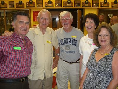 Juan, John and Tom Jamison; Deanna and Terri (Juan's spouse). [Tom earned an advanced degree from Jamison University!]