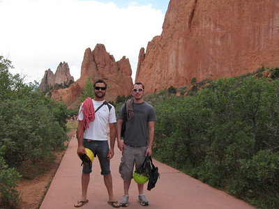 Fifteen years after our first adventure - and now two rope carriers instead of one.