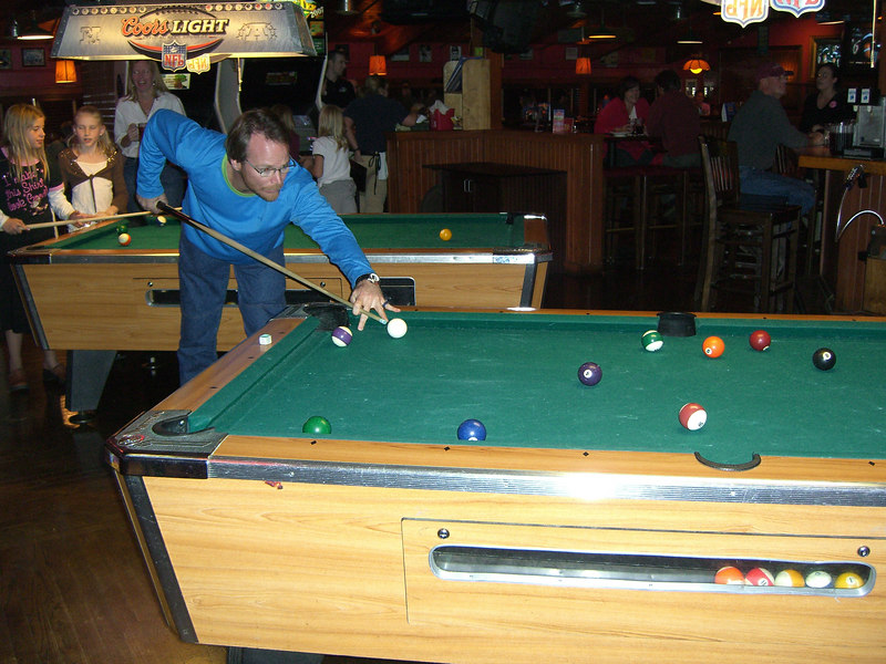 I think it was Patrick who cleared the table, though.