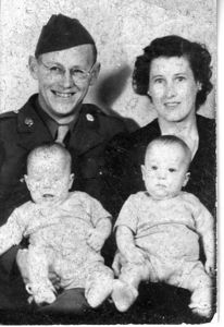 Military Family ID shot - probably late '43.