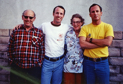 I'm thinking mid-to-late 60s. Dad, Bill, Mom & Dick.