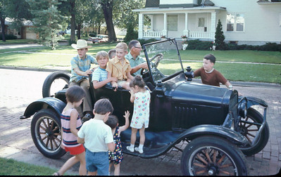 Can you identify the make and model of Uncle Boyd's car?
