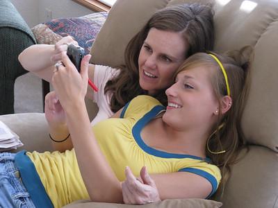 Girls love electronic gadgets!