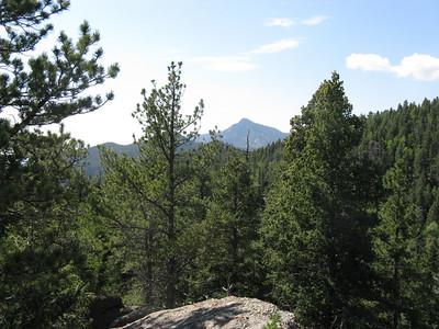 South view toward Cameron Cone.