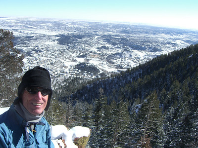 Uncle Bill here. Victory - at Lookout Rock, the half-way point to the summit. Good show for a Floridian's first time out!