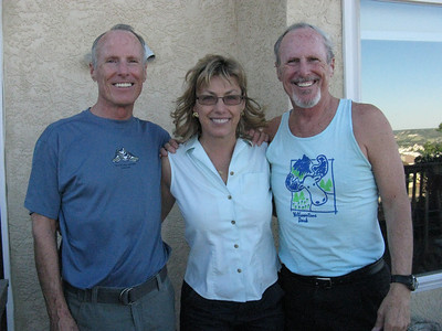 L-R: Bill, Pam and Richard.
