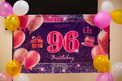 Aunt Pearl's 96th Birthday Celebration