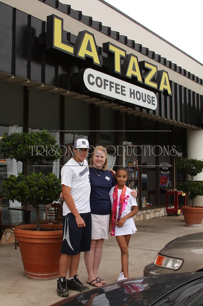 Mike's Art Show at La Taza Coffee Shop 04-30-11