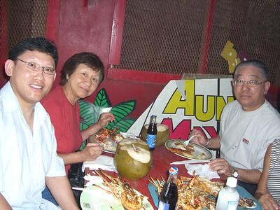 auntie Norma visit 2007