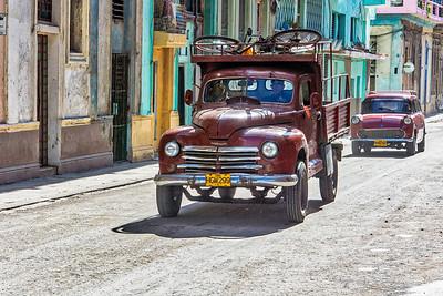 Escena callejera de La Habana