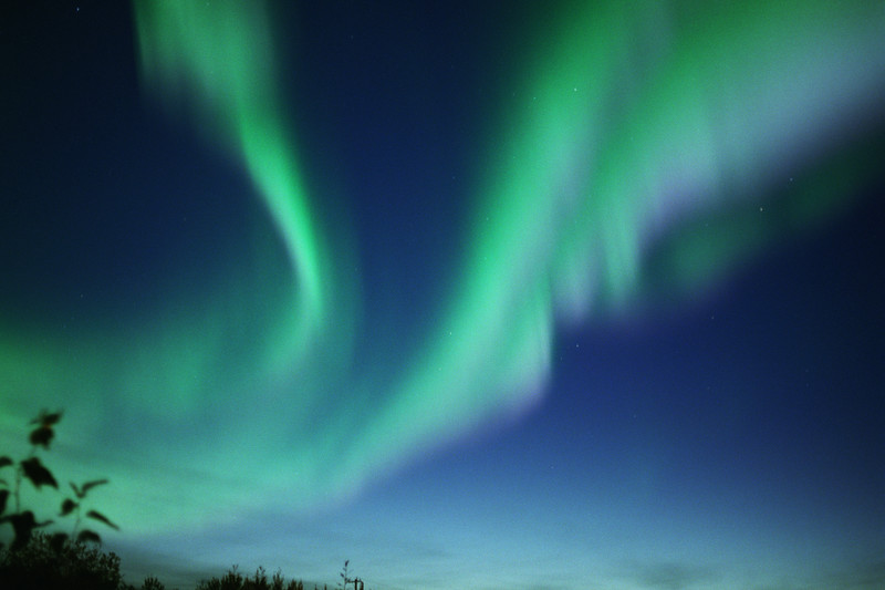 Aurora over the Yukon