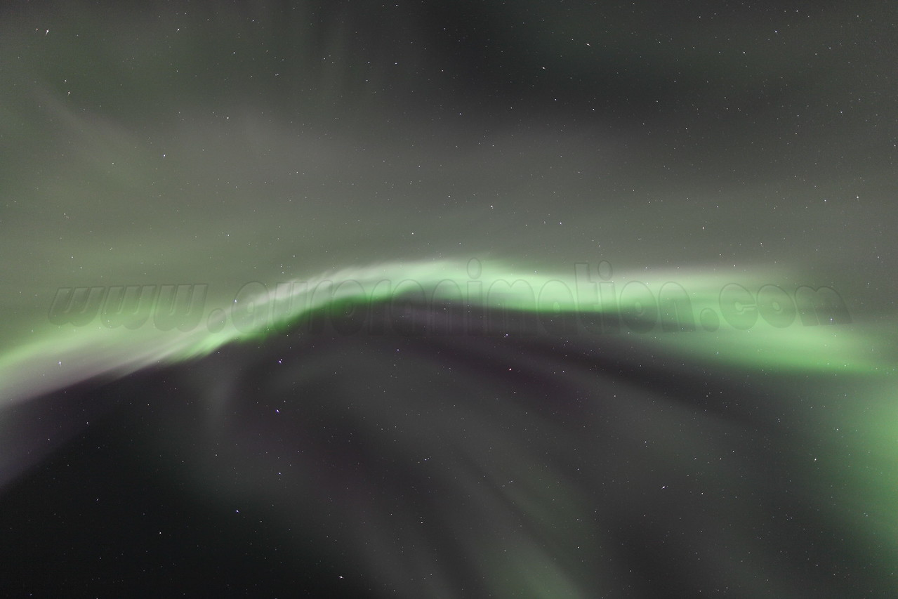 Bright corona at 04:55 AM on March 17, 2013 - Arctic Circle, Alaska<br /> <br /> Canon 5D MKII with EF 24mm f/1.4L II