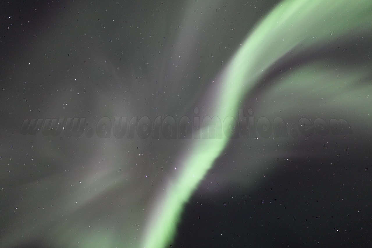 Overhead corona at 04:54 AM on March 17, 2013 - Arctic Circle, Alaska<br /> <br /> Canon 5D MKII with EF 24mm f/1.4L II