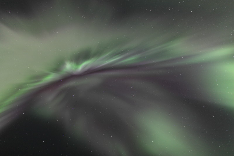 Delicate corona at 04:55 AM on March 17, 2013 - Arctic Circle, Alaska<br /> <br /> Canon 5D MKII with EF 24mm f/1.4L II