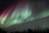 Colorful Northern Lights at the Arctic Circle in Alaska on March 17, 2013 - 01:37 AM<br /> <br /> Canon 5D MKII with EF 24mm f/1.4L II