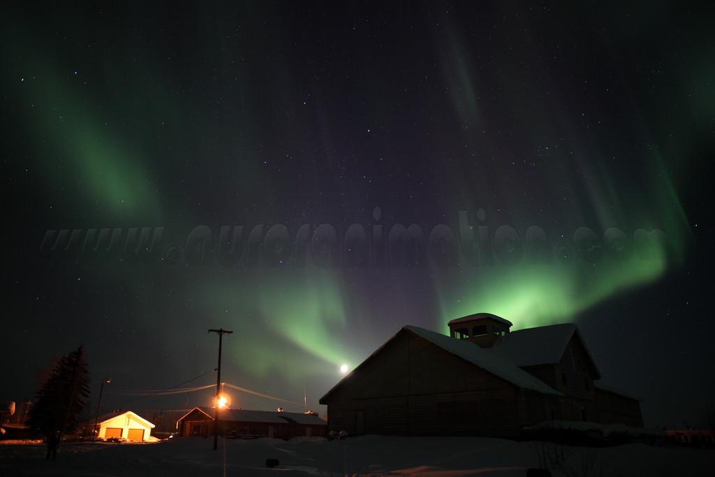 Aurora Borealis at the Yukon River - March 28, 2012 - Circle, Alaska<br /> <br /> Camera: Canon EOS 5D Mark II - Lens: Zeiss Distagon 25mm f/2.0 ZE