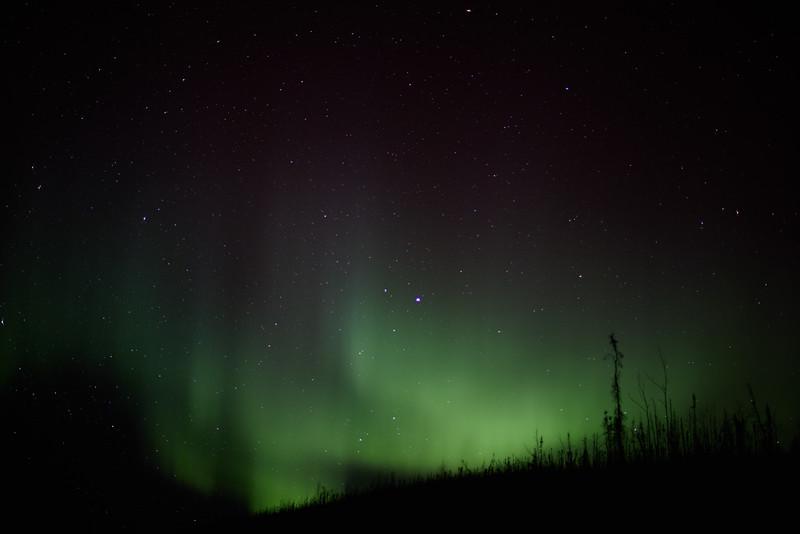 New Moon Aurora in Alaska on March 11 2013