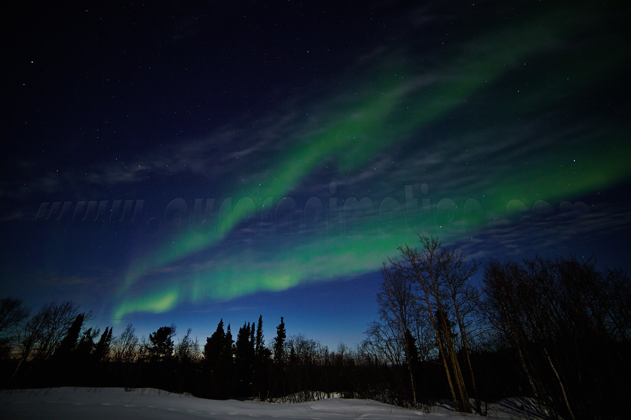 Northern Lights on April 11, 2014