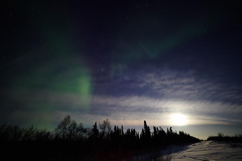 Northern Lights on April 12, 2014