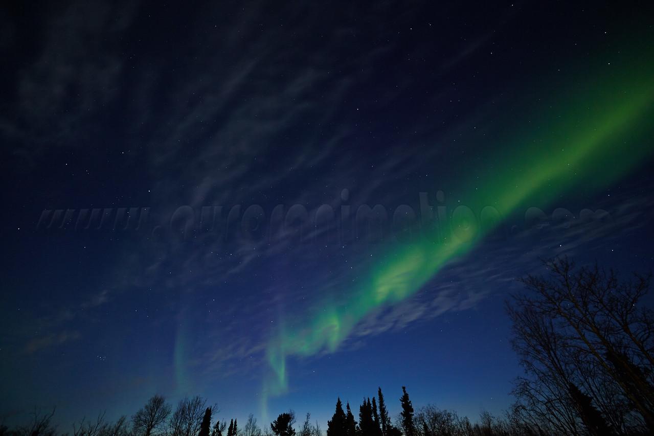 Northern Lights on April 11 2014