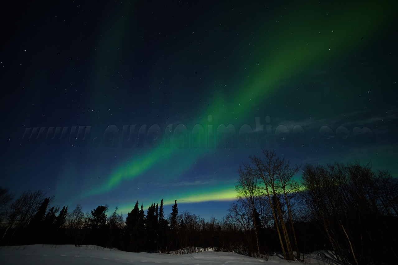 Northern Lights on April 12, 2014