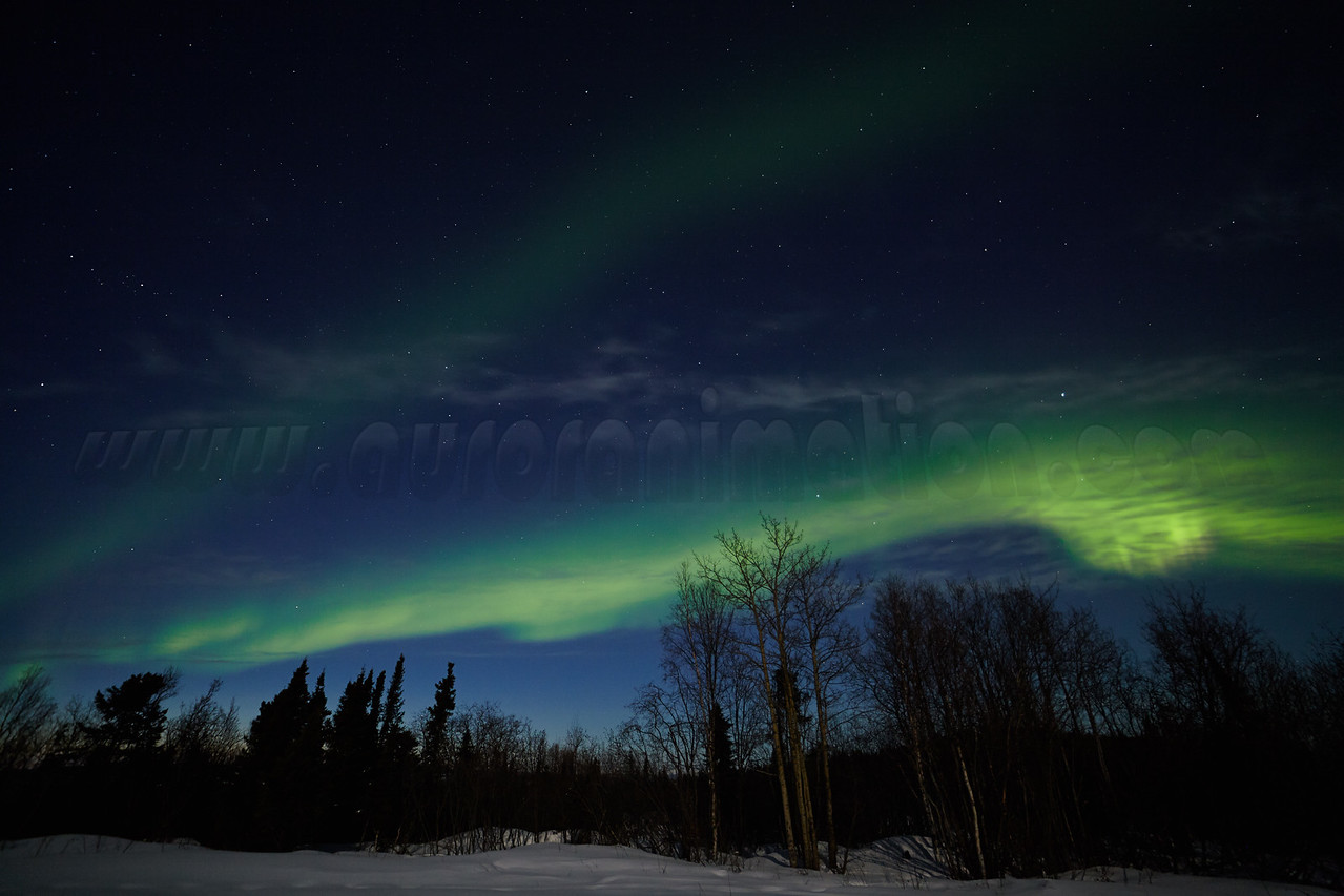Northern Lights on April 11-12, 2014