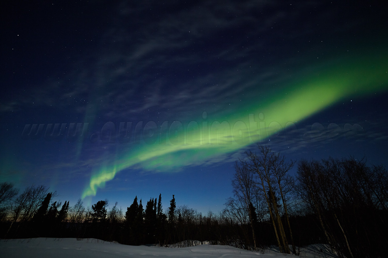 Northern Lights on April 11 2014