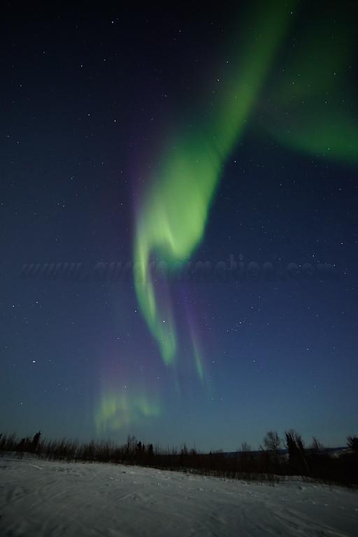 Colorful Aurora on April 12