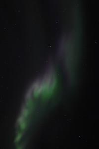 Aurora over Circle, Alaska on March 1, 2011