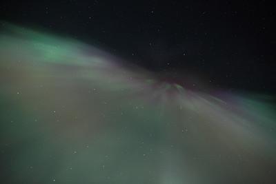 Aurora Corona on March 1, 2011 - Circle, Alaska