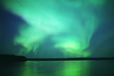 Aurora Borealis at the Yukon - August 29 2000
