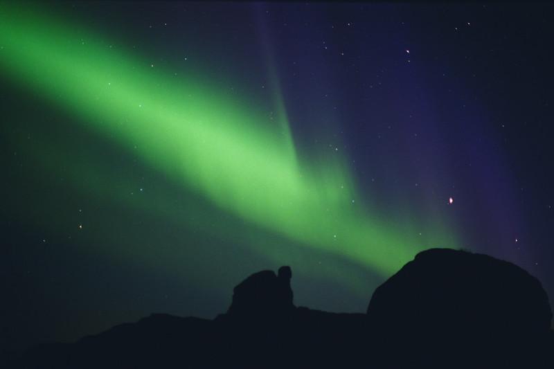 Northern Lights over Chena, Alaska