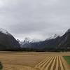 Massif Trolltindene (Troll Peaks) mountains in the Romsdalen valley in Rauma, Norway. Sept. 19th, 2019