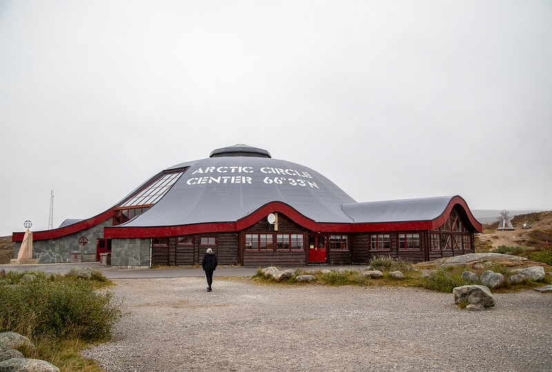 The Arctic Circle Center, 66' 33' N, Norway. Sept. 20, 2019