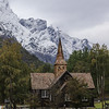 Kors Church, Village of Marstein, Norway. Sept. 19th, 2019
