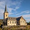 Vagan Church, Kabelvag, Norway. Sept. 24, 2019
