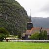 Flam Church, Flam, Norway. Sept. 15, 2019
