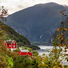 Aurlandsfjord from Onstad, Norway. Sept 13, 2109