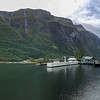 Vision of the Fjords all Electric Catamaran from Flam to Gudvangen, Norway. Sept. 14, 2019