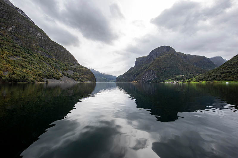 Undredal from Vision of the Fjords Catamaran from Flam to Gudvangen, Norway. Sept. 14, 2019