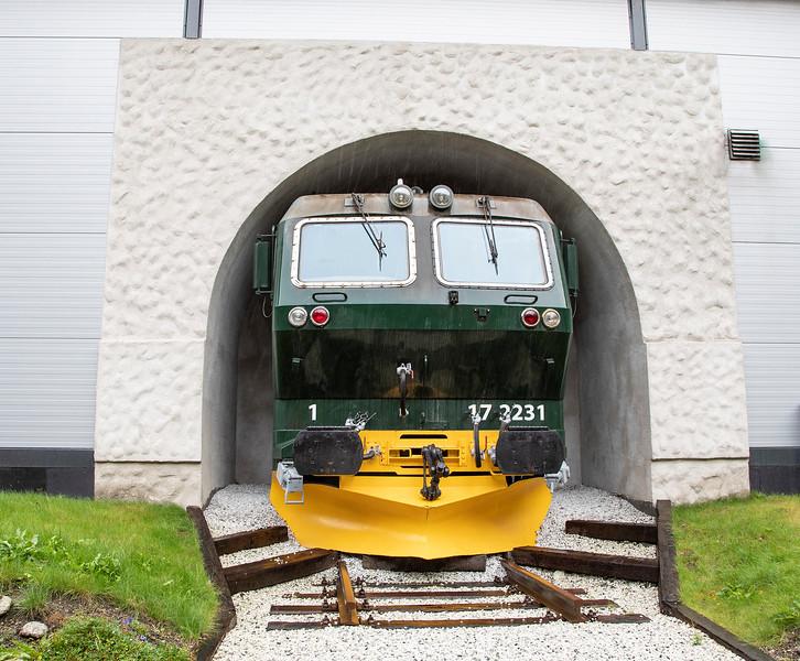 Flam Railway Museum, Flam Norway. Sept 15, 2019