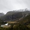 Kardalsfossen Waterfall, Flam Railway. Myrdal to Flam, Flam Norway. Sept 15, 2019