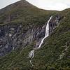 Ljosurdfossen Waterfall in the Geirangerfjord, Norway. Sept. 16, 2019